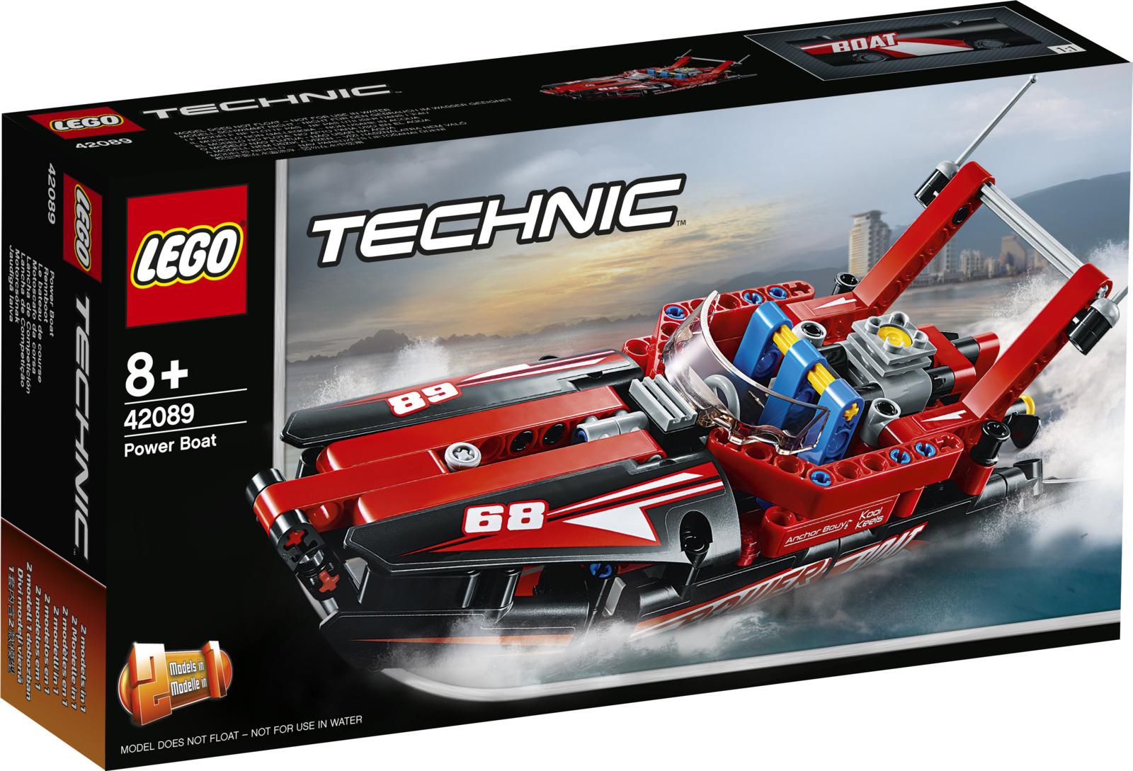 LEGO Technic 42089 Моторная лодка Конструктор