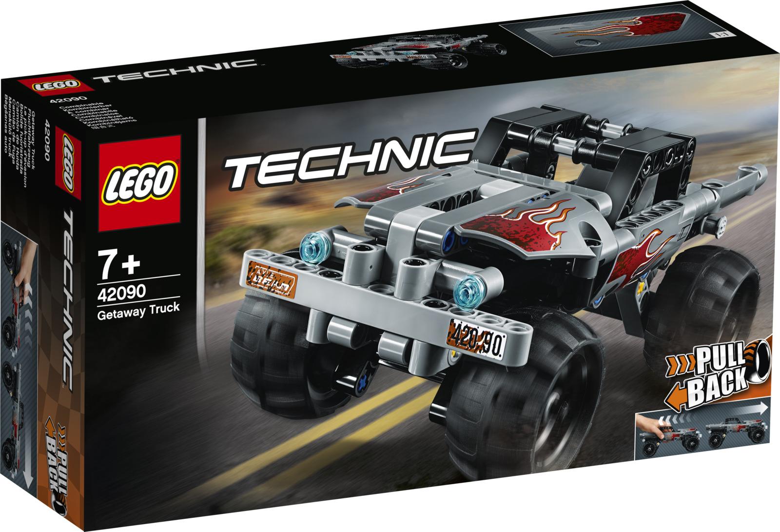 LEGO Technic 42090 Машина для побега Конструктор цена и фото