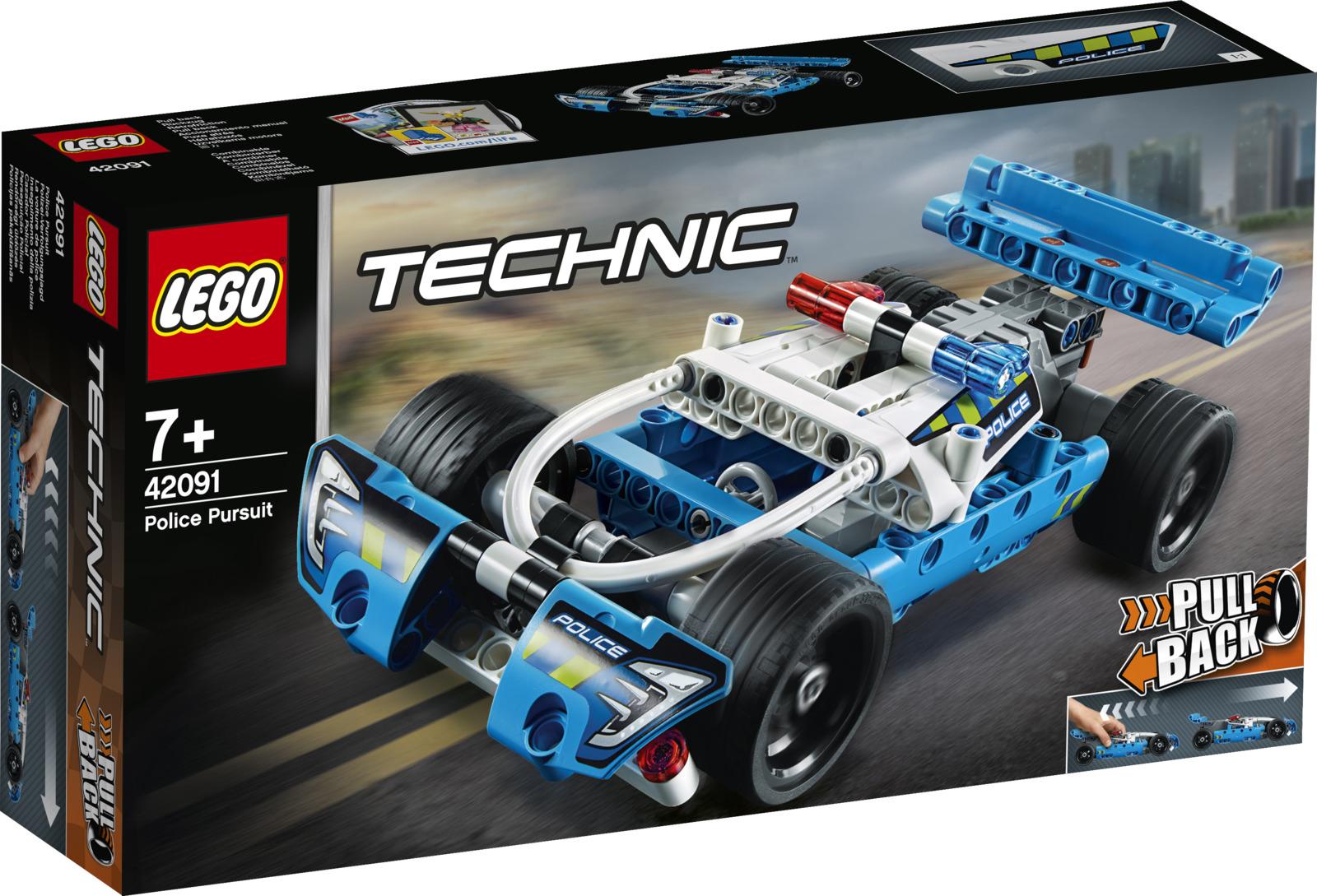 LEGO Technic 42091 Полицейская погоня Конструктор