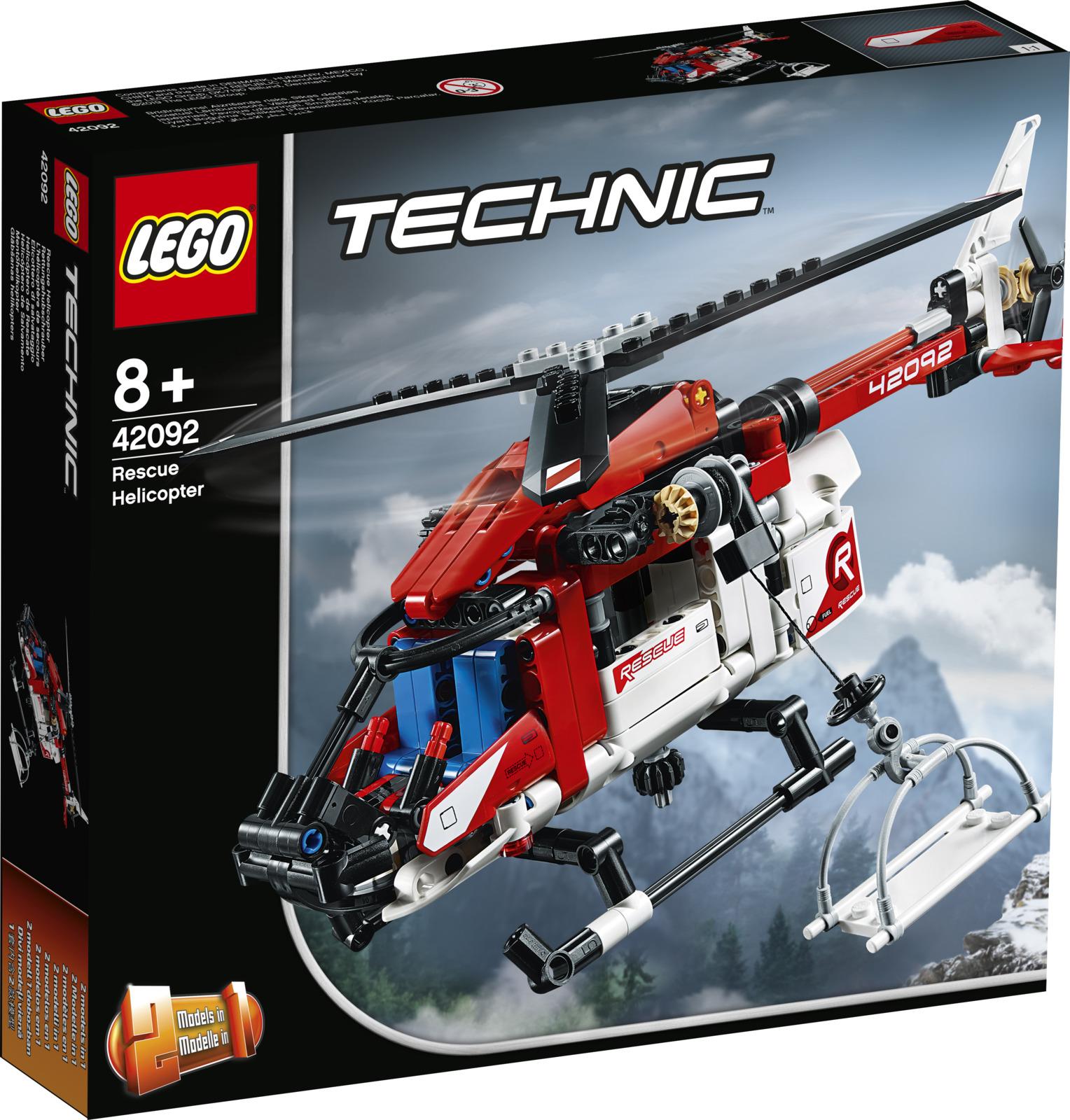 LEGO Technic 42092 Спасательный вертолет Конструктор lego technic 42092 конструктор лего техник спасательный вертолёт
