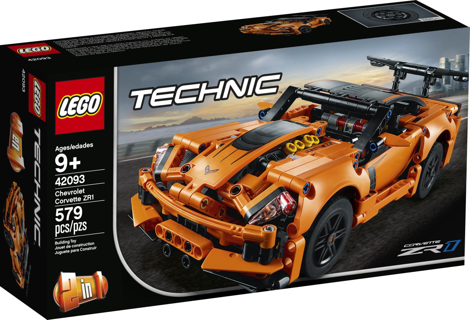 LEGO Technic 42093 Chevrolet Corvette ZR1 Конструктор