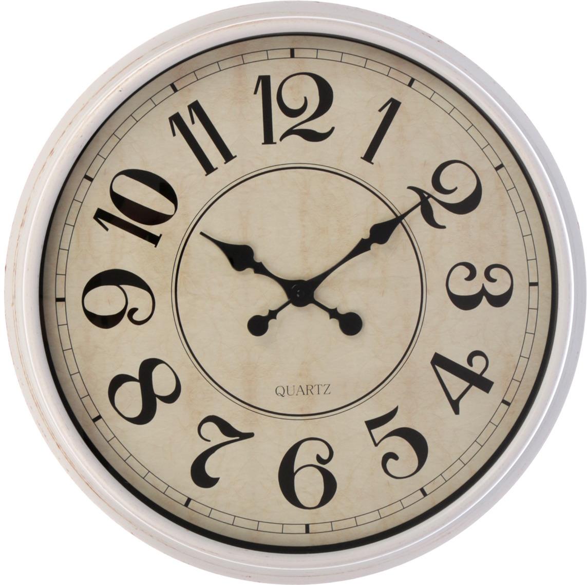 """Настенные часы """"Карат"""", 3014868, белый"""