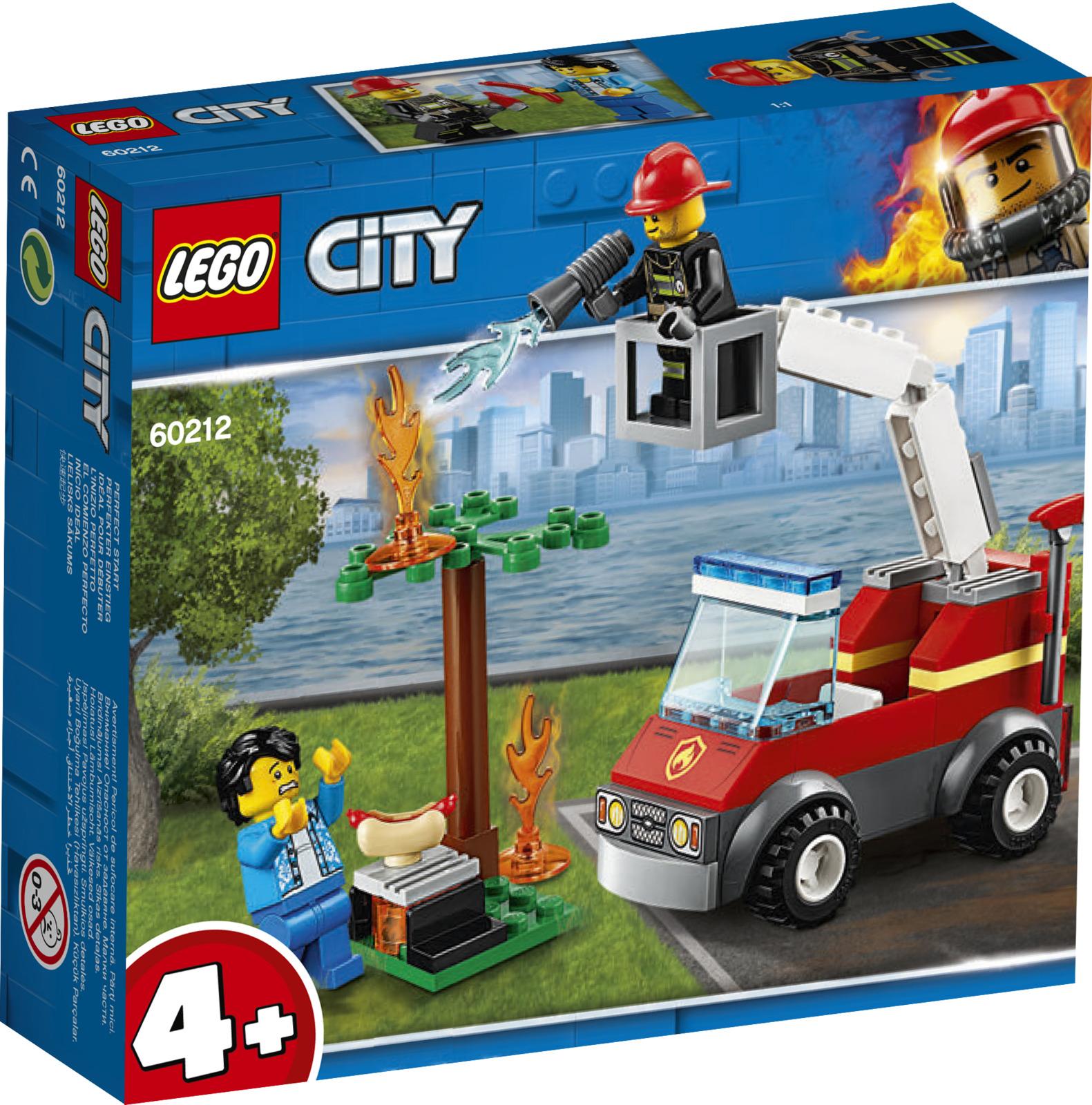 LEGO City Fire 60212 Пожар на пикнике Конструктор цена