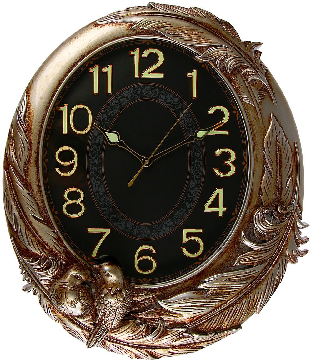 Настенные часы Птицы на ветке