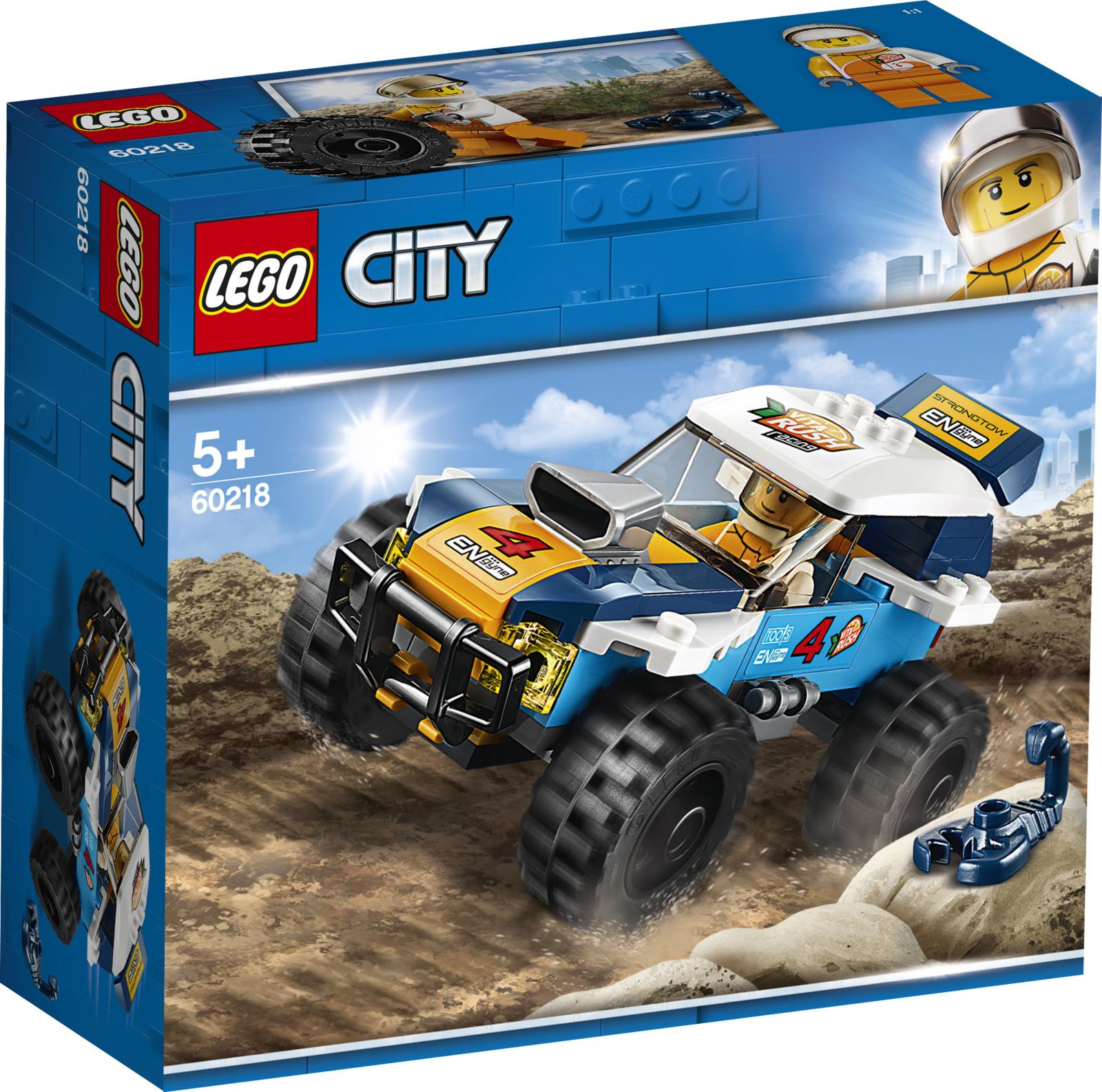 LEGO City Great Vehicles 60218 Участник гонки в пустыне Конструктор