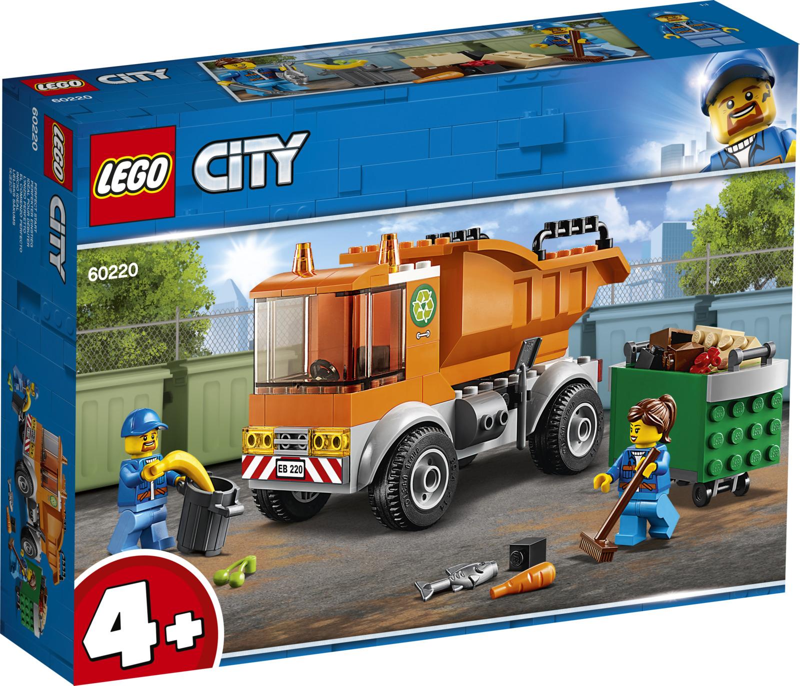 LEGO City Great Vehicles 60220 Мусоровоз Конструктор lego lego city 60118 мусоровоз