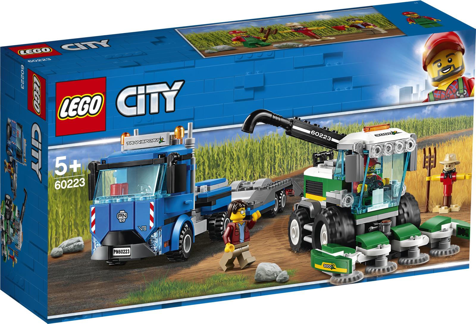 LEGO City Great Vehicles 60223 Транспортировщик для комбайнов Конструктор