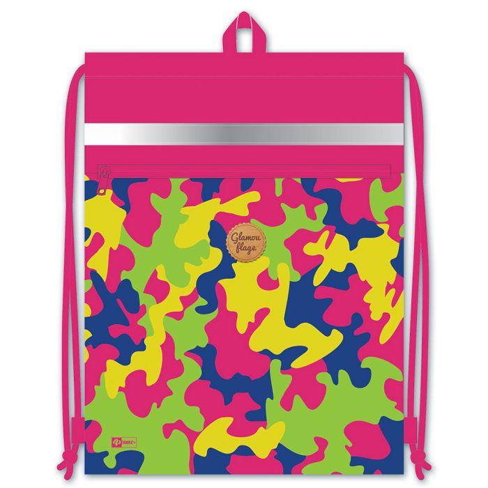 Мешочек для обуви Феникс+, 46299, розовый, 48х36 см