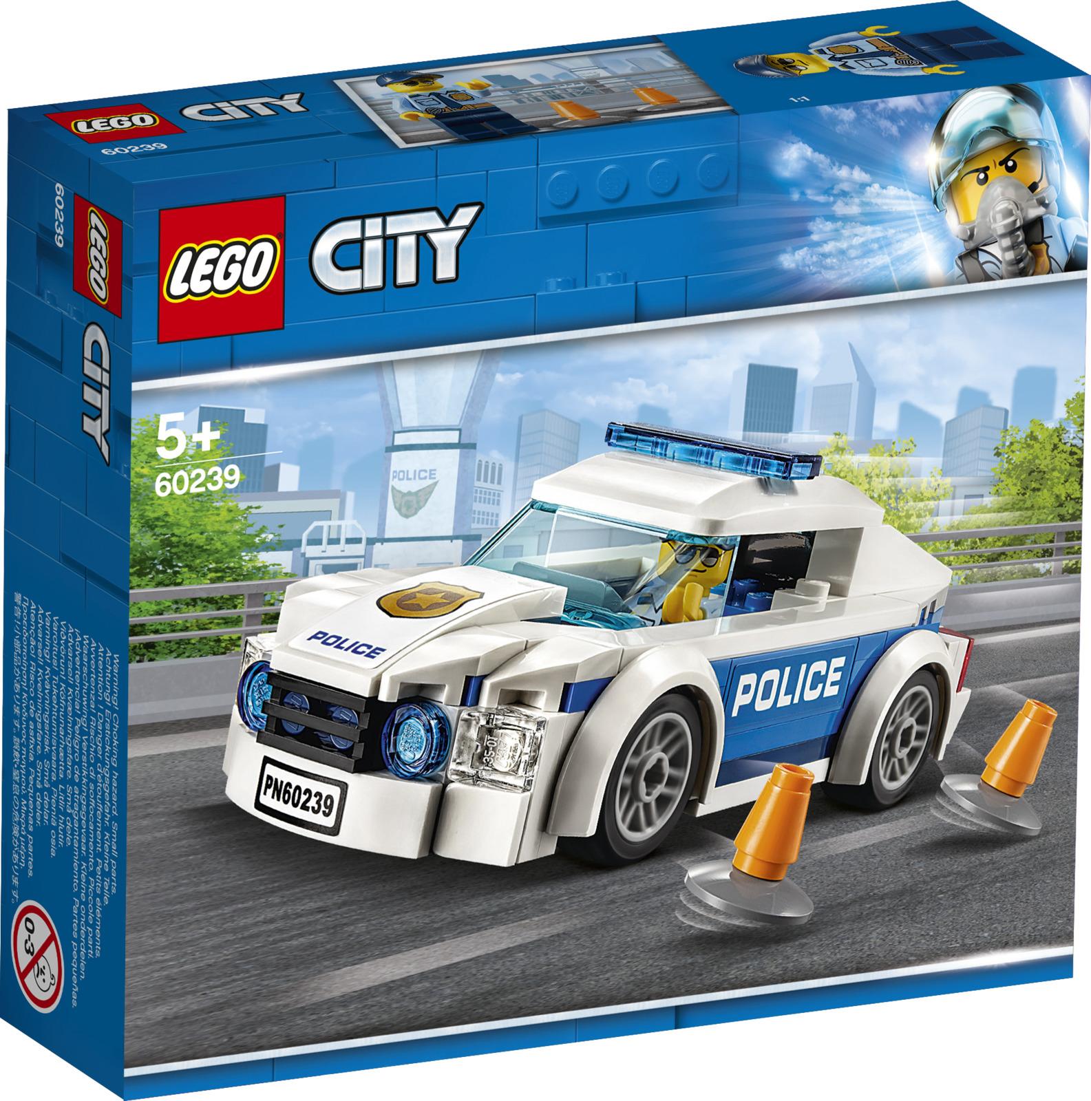 цены на LEGO City Police 60239 Автомобиль полицейского патруля Конструктор  в интернет-магазинах
