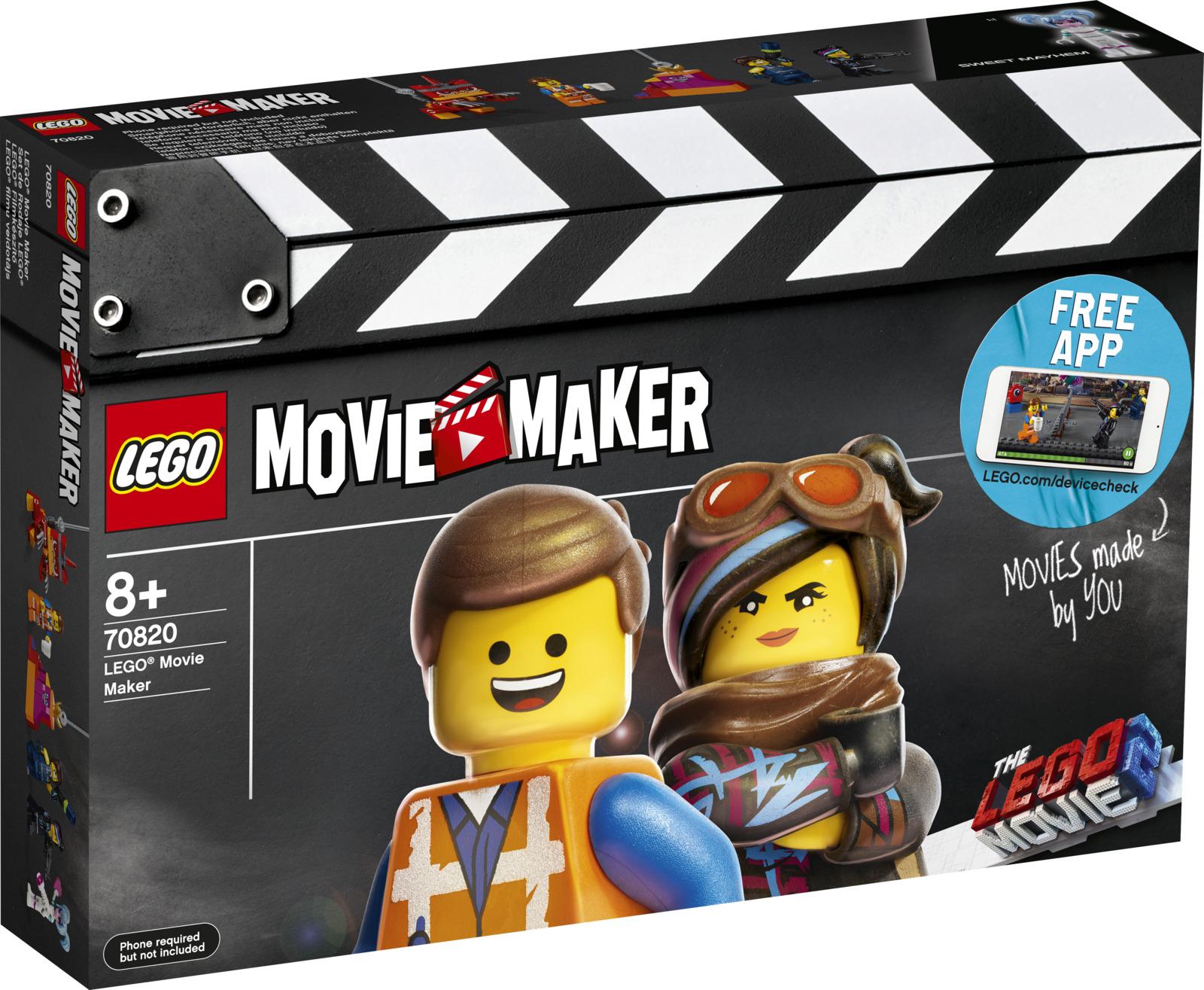 LEGO Movie 2 70820 Набор кинорежиссера Конструктор
