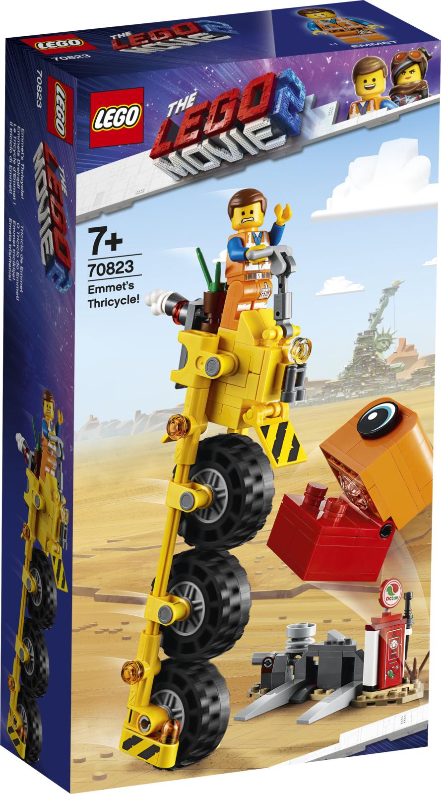 LEGO Movie 2 70823 Трехколесный велосипед Эммета! Конструктор