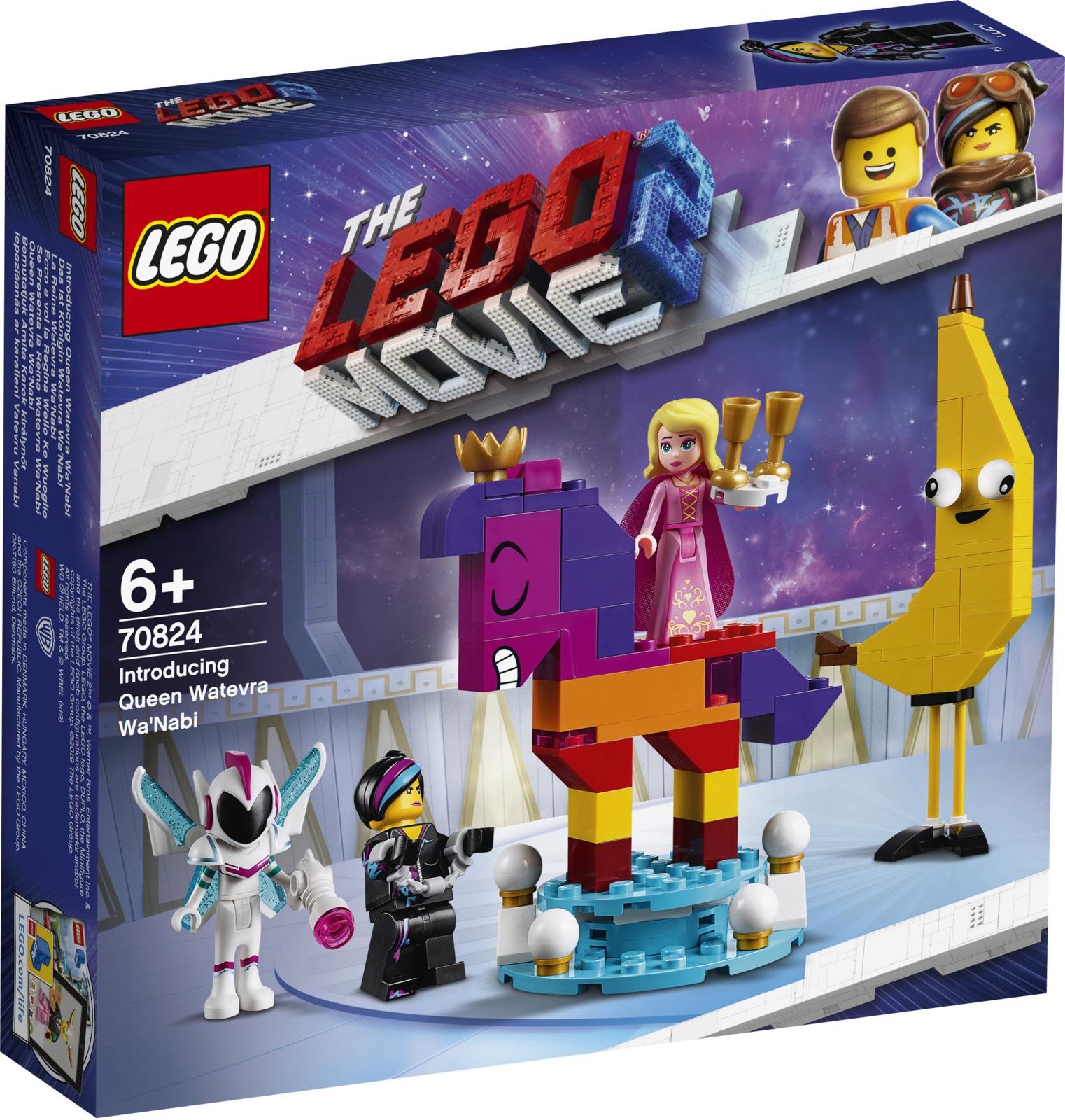 LEGO Movie 70824 Познакомьтесь с королевой Многоликой Прекрасной Конструктор