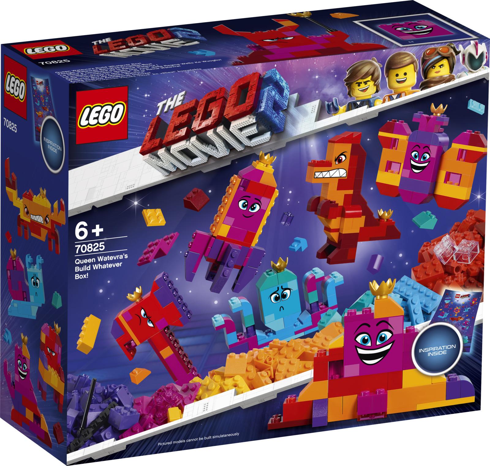 "LEGO Movie 2 70825 Шкатулка королевы Многолики ""Собери что хочешь"" Конструктор"