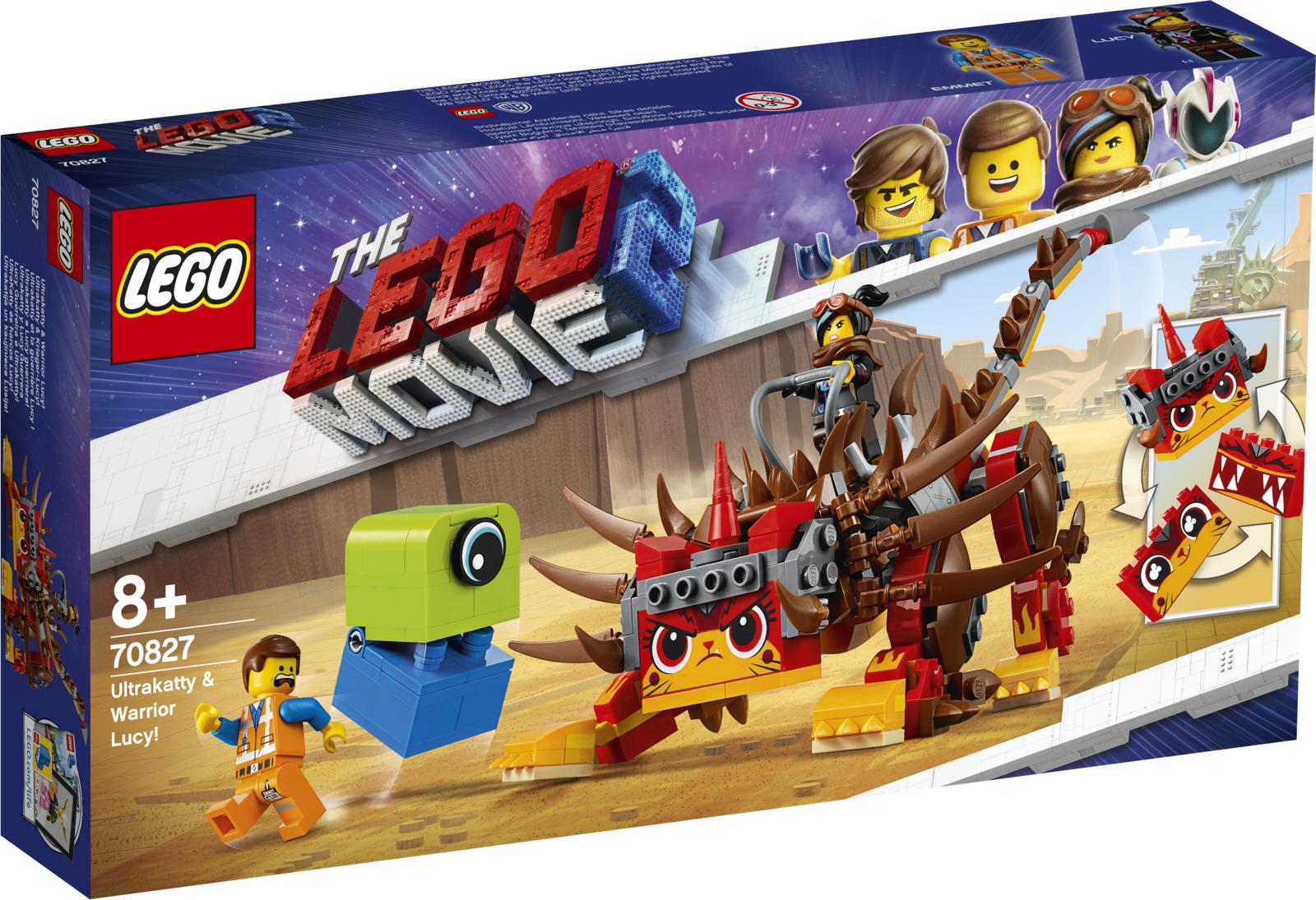 LEGO Movie 2 70827 Ультра-Киса и воин Люси Конструктор