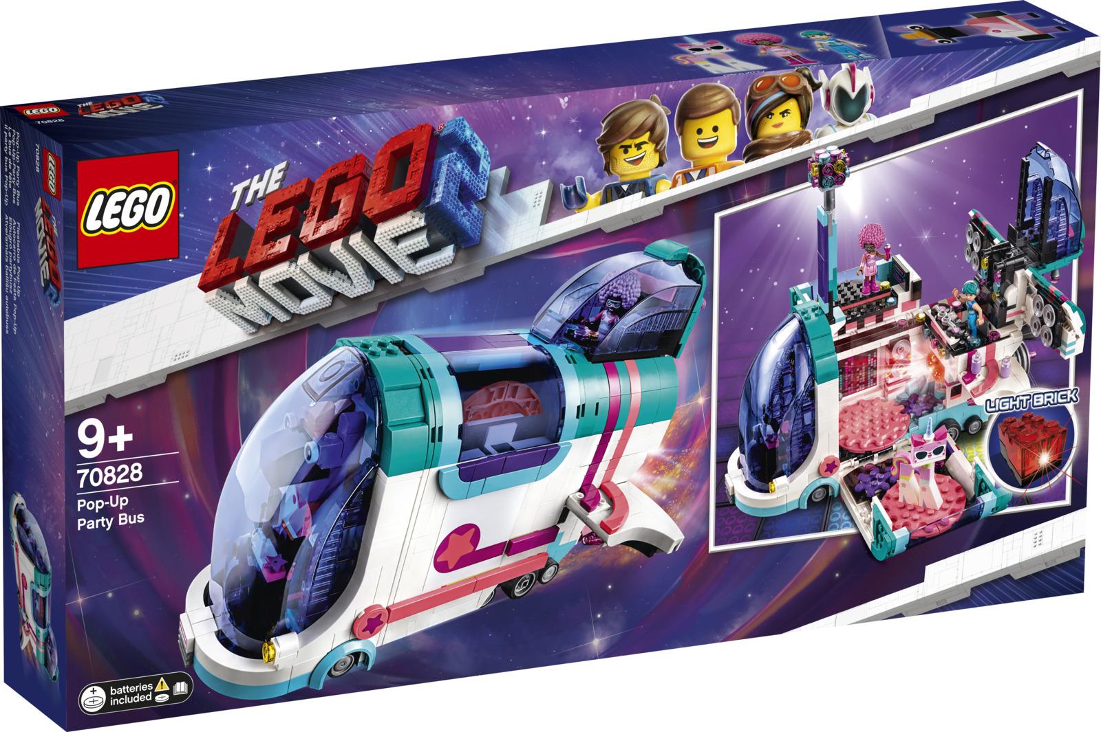 LEGO Movie 2 70828 Автобус для вечеринки Конструктор