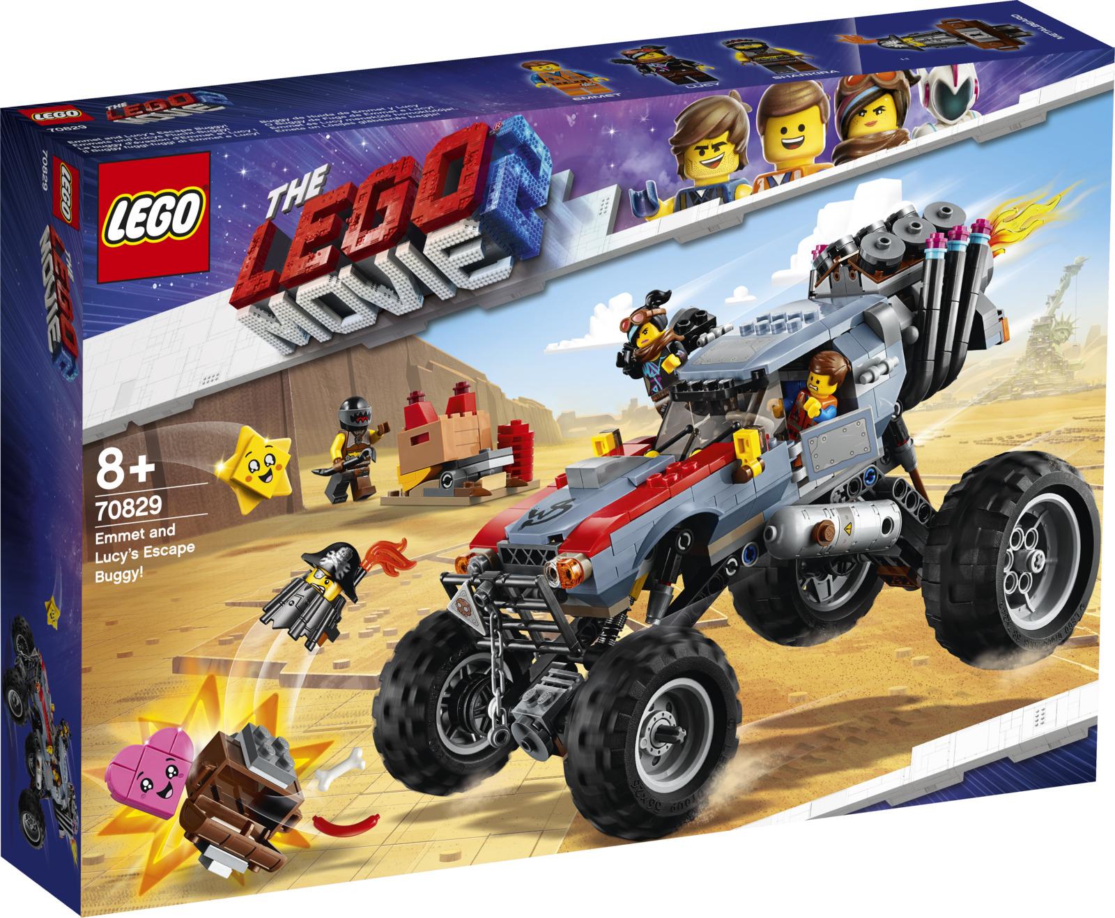 LEGO Movie 2 70826 Побег Эммета и Дикарки на багги Конструктор цена в Москве и Питере