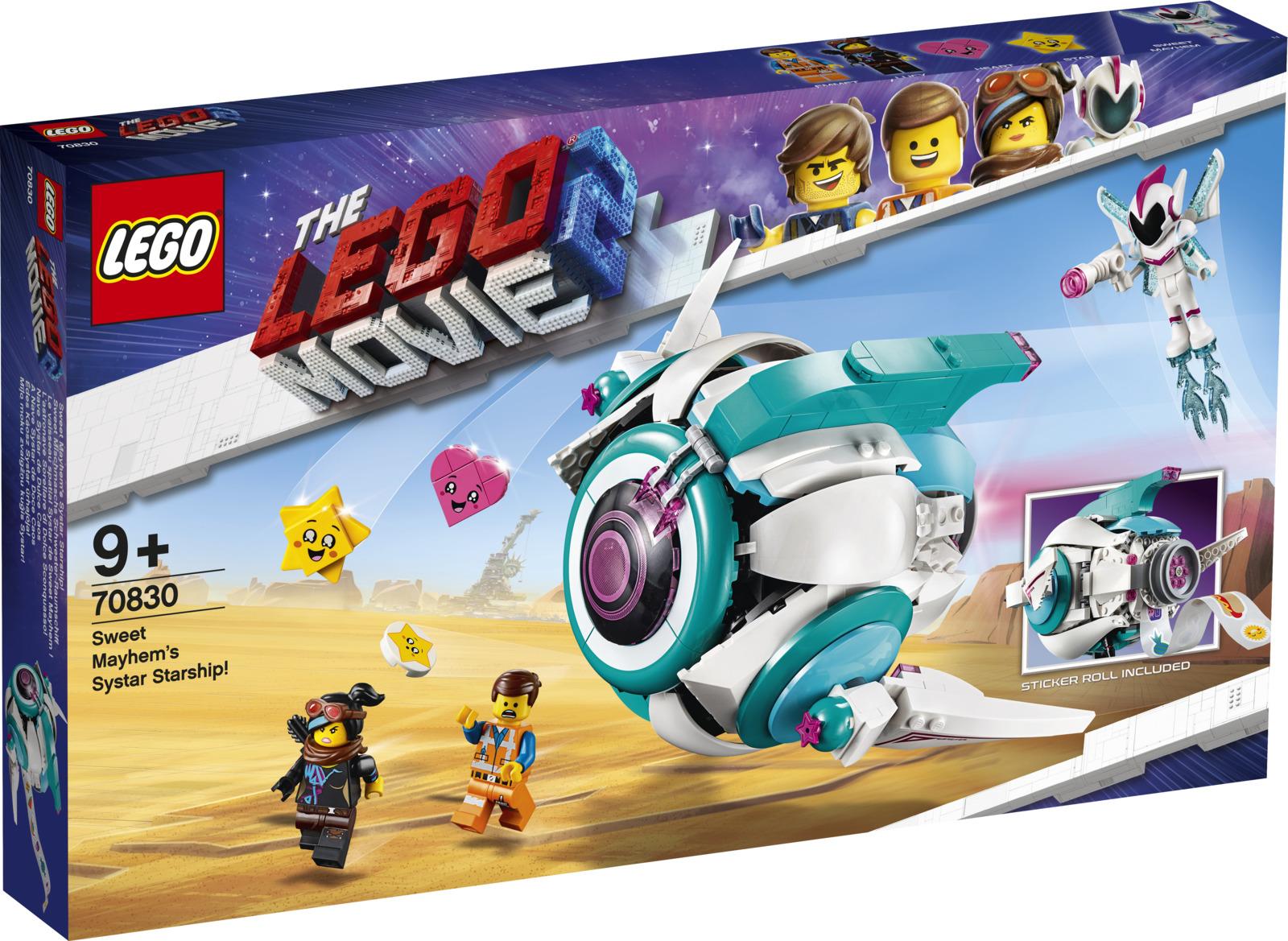 LEGO Movie 2 70830 Падруженский Звездолет Мими Катавасии Конструктор