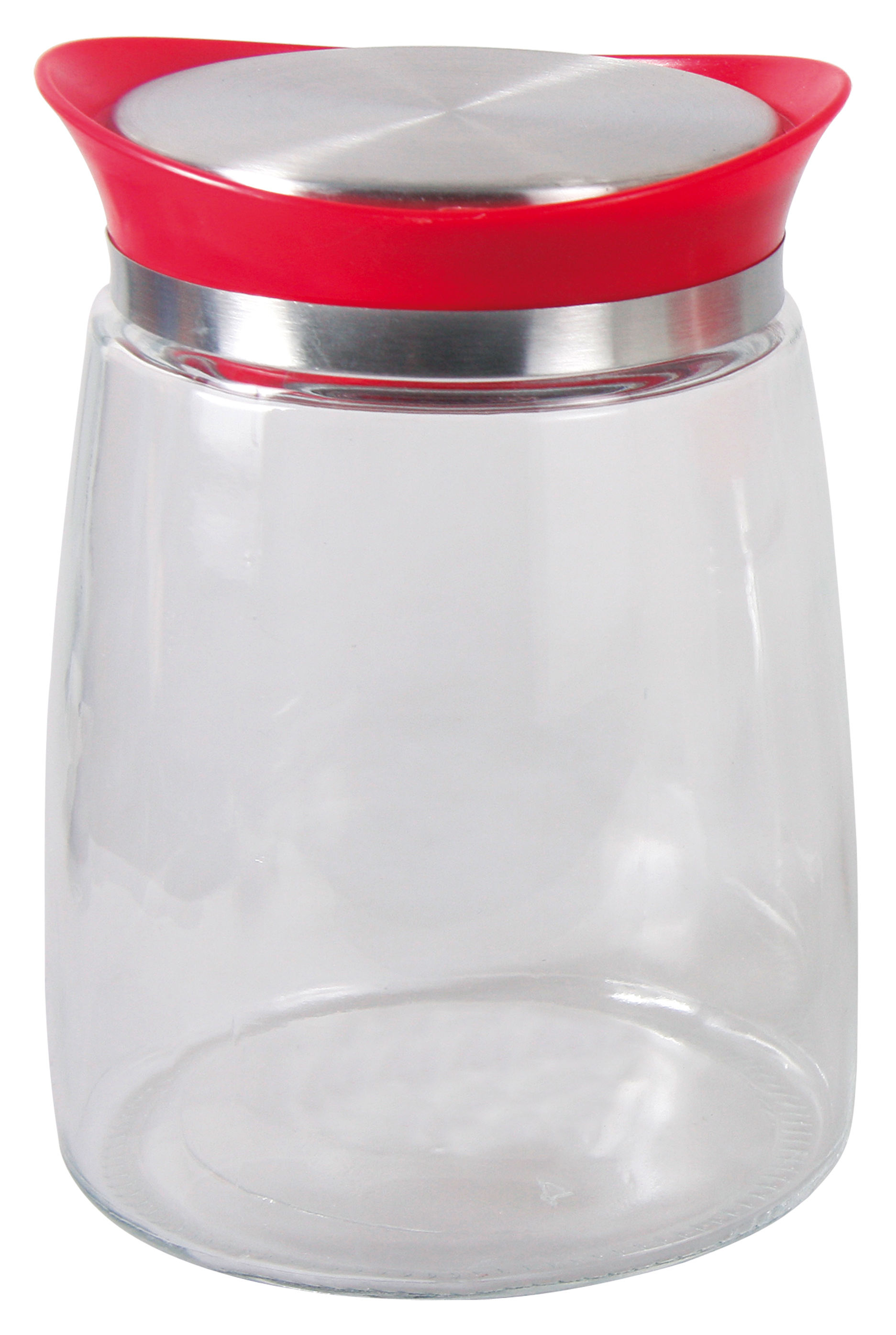 Банка для сыпучих продуктов BOHMANN Стеклянная емкость с крышкой для хранения сыпучих и жидких продуктов, Стекло