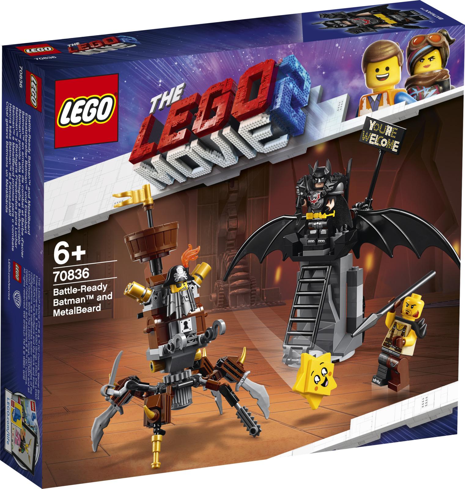 LEGO Movie 70836 Боевой Бэтмен и Железная борода Конструктор