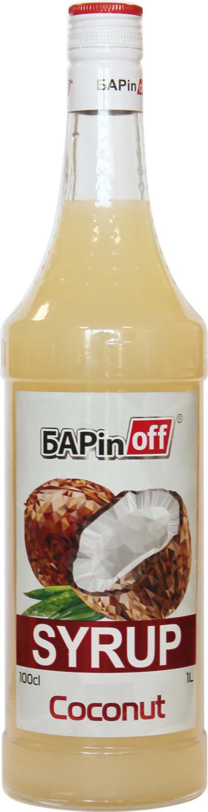 цена на Barinoff Сироп Кокос, 1 л