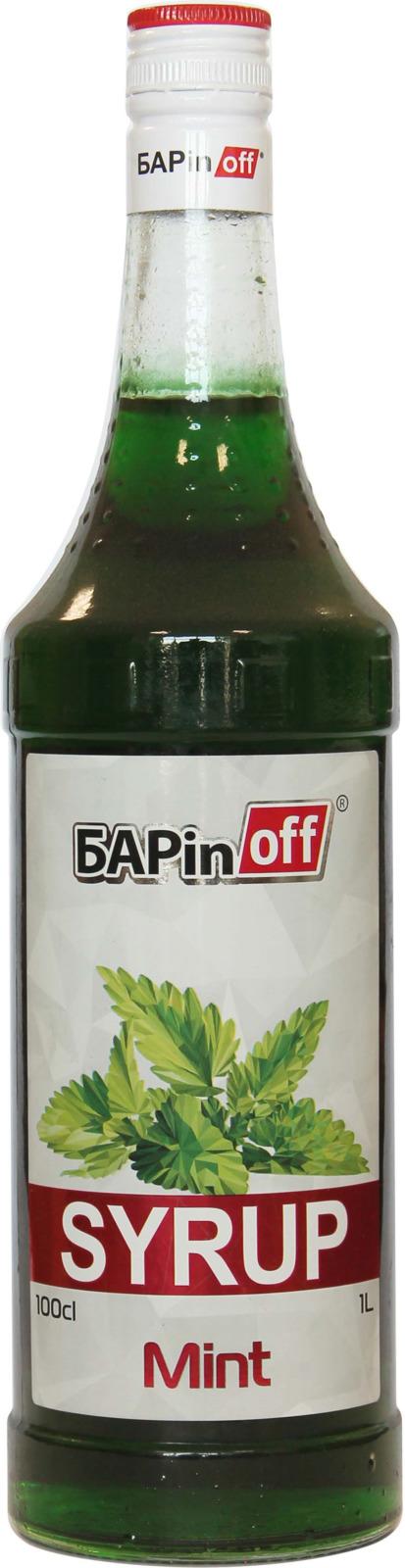 цена на Barinoff Сироп Мятный, 1 л