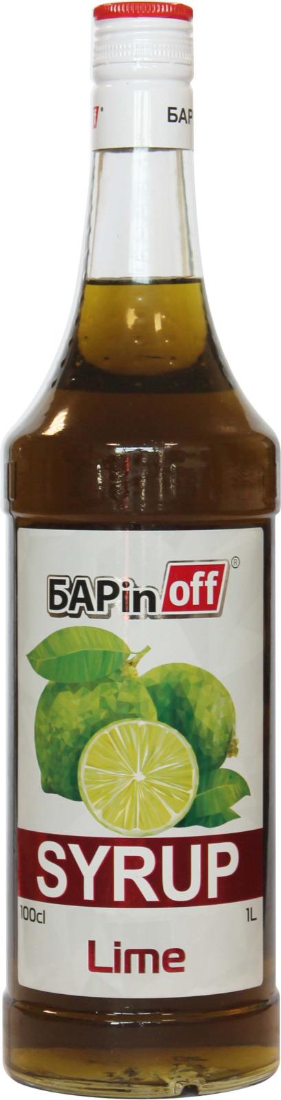 Barinoff Сироп Лайм, 1 л