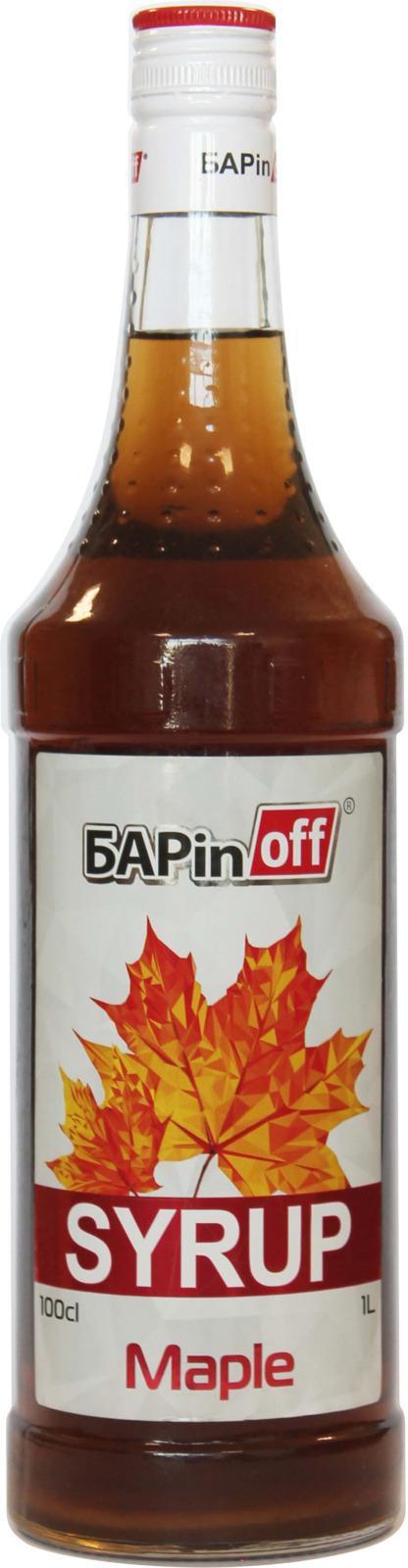 цена на Barinoff Сироп Кленовый, 1 л