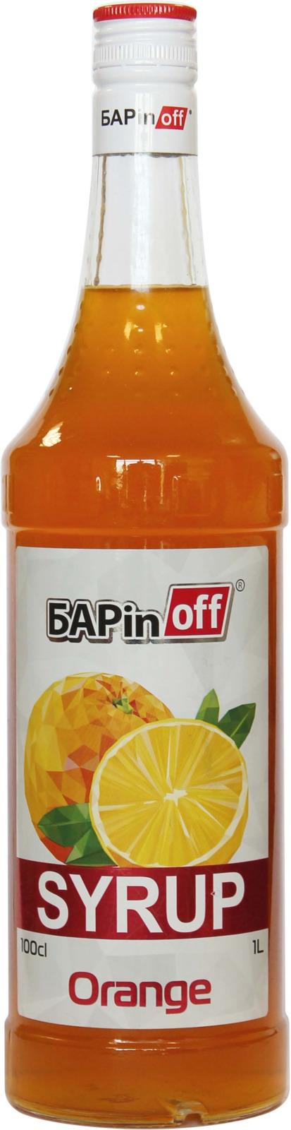 Barinoff Сироп Апельсин, 1 л