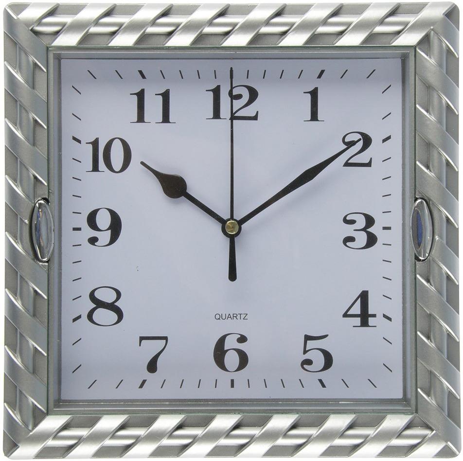 """Настенные часы """"Жаклин"""", 2457676, серебристый"""
