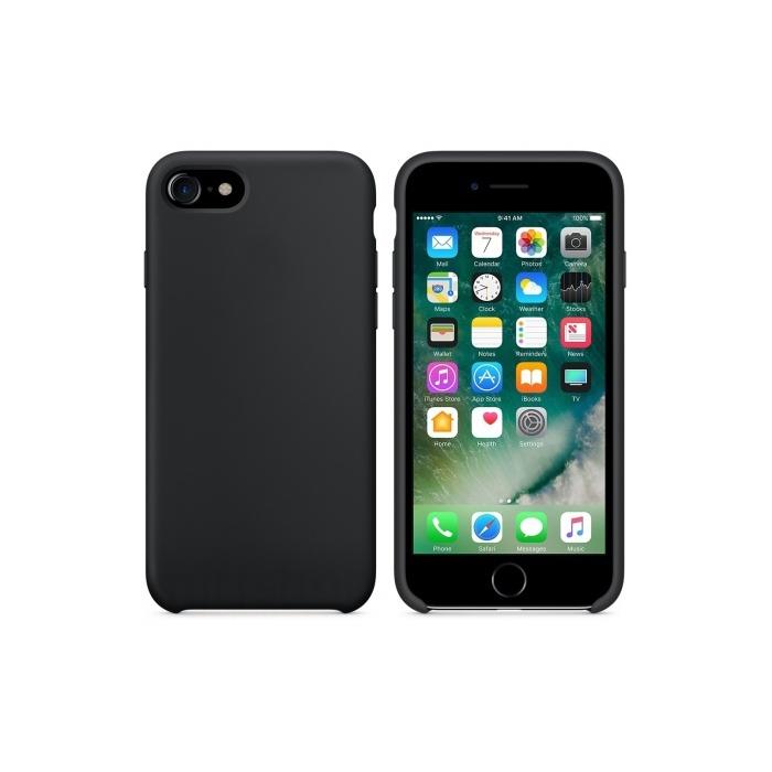 Чехол для телефона Just Must Nature для Apple Iphone 7/8, черный чехол книжка для apple iphone 7 8 sgp valentinus черный