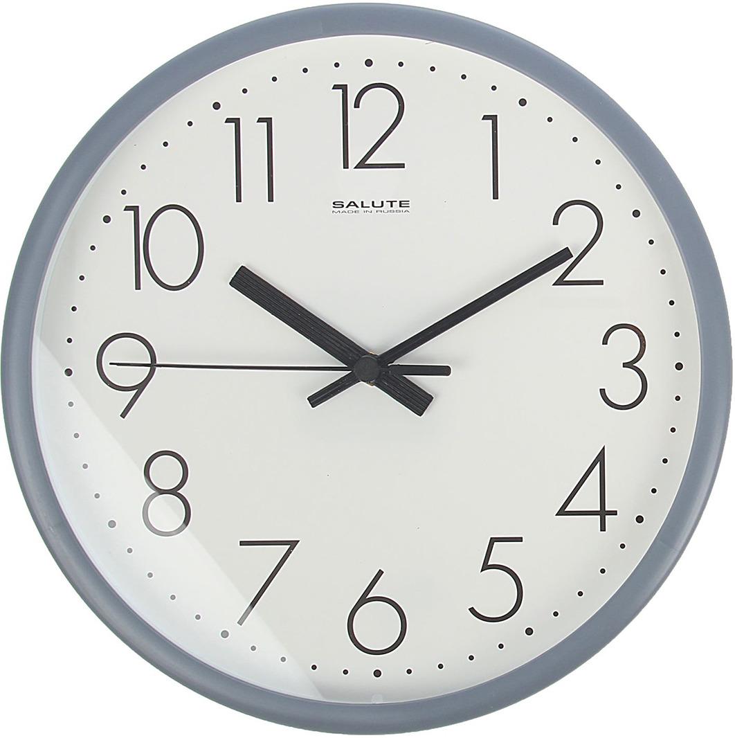 Настенные часы Классика круглые, с рамкой