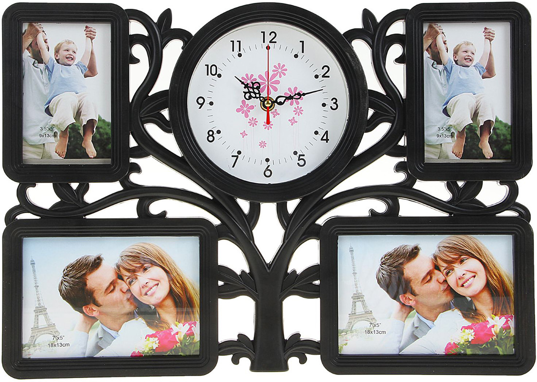 настенные часы с фотографией на заказ