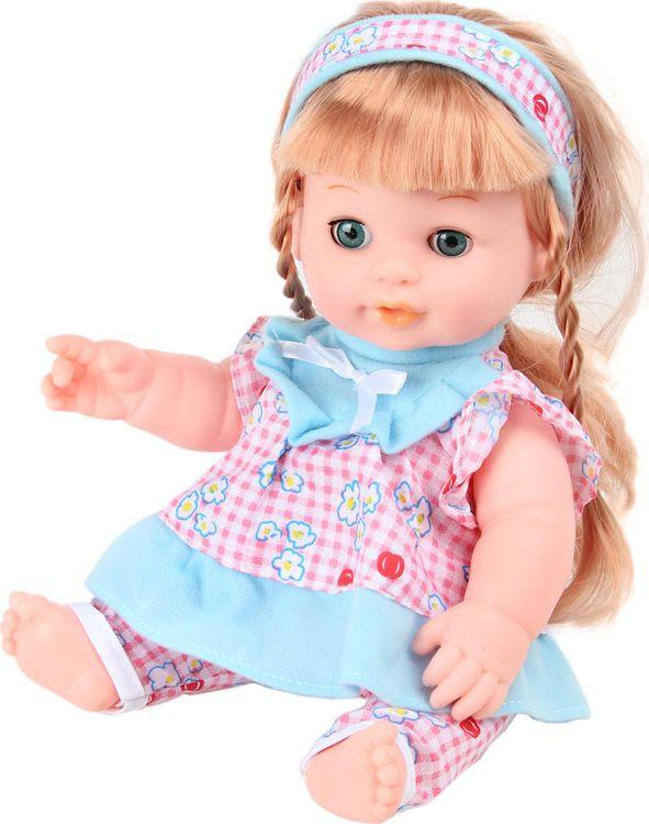 Пупс Lisa Jane, 72293, функциональный, озвученный, с аксессуарами, 35 см
