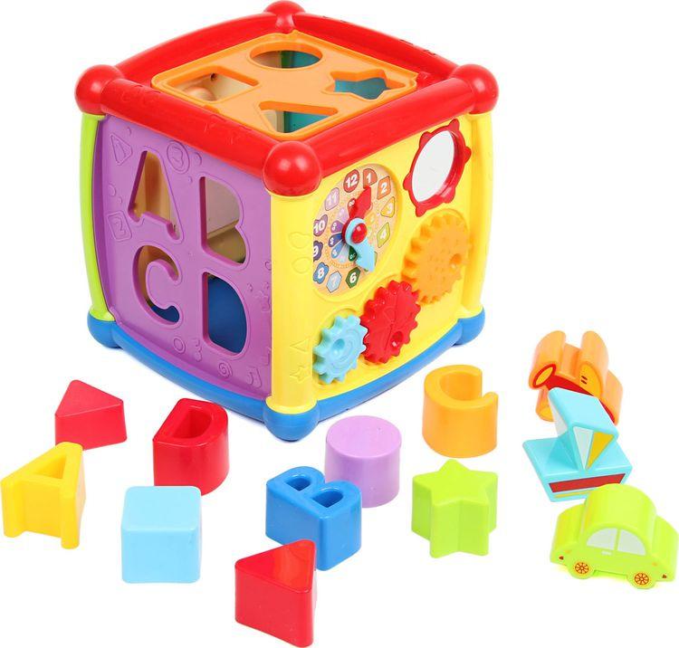 Развивающие кубики-сортеры Ути Пути, 72403