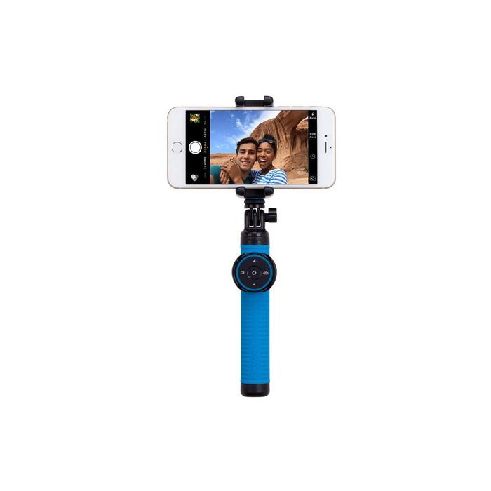 лучшая цена Монопод для смартфона MOMAX Hero Bluetooth Selfie Pod 100cm, 4894222041035, синий