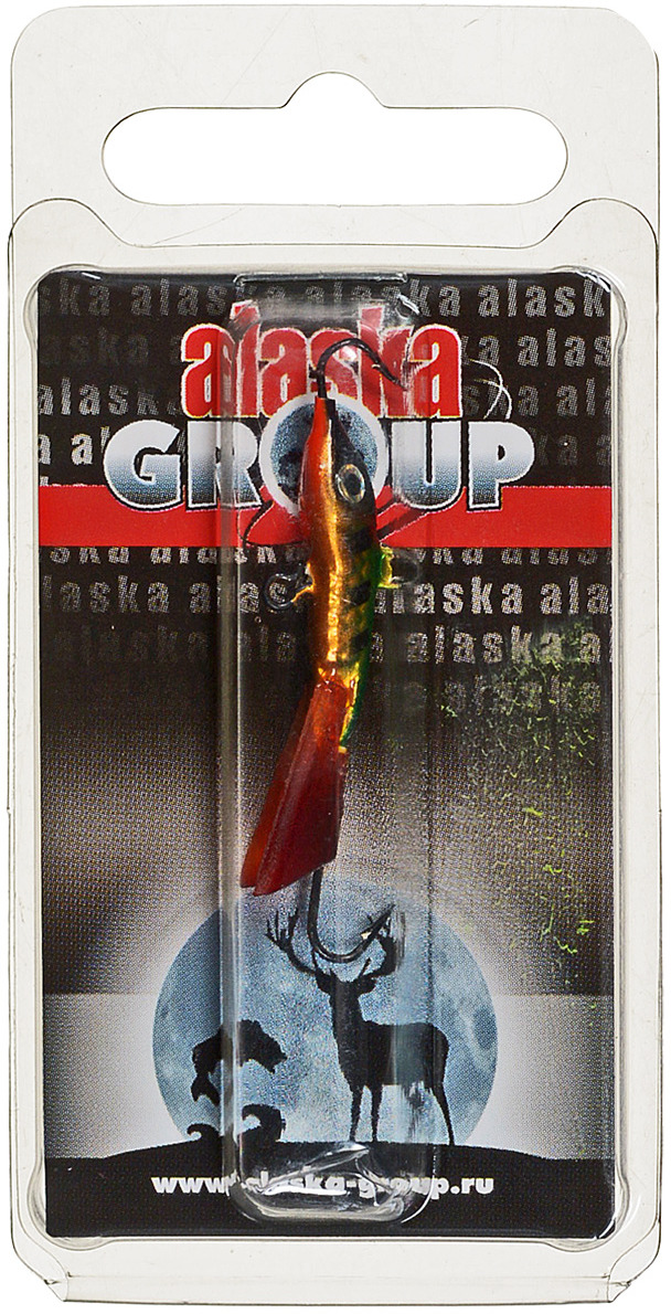 Балансир Alaska Group AGT03 MGL, УТ000011145, зеленый, золотой, 38 мм блесна alaska group abm1 1 55 ni go ут000010828 золотой 55 мм