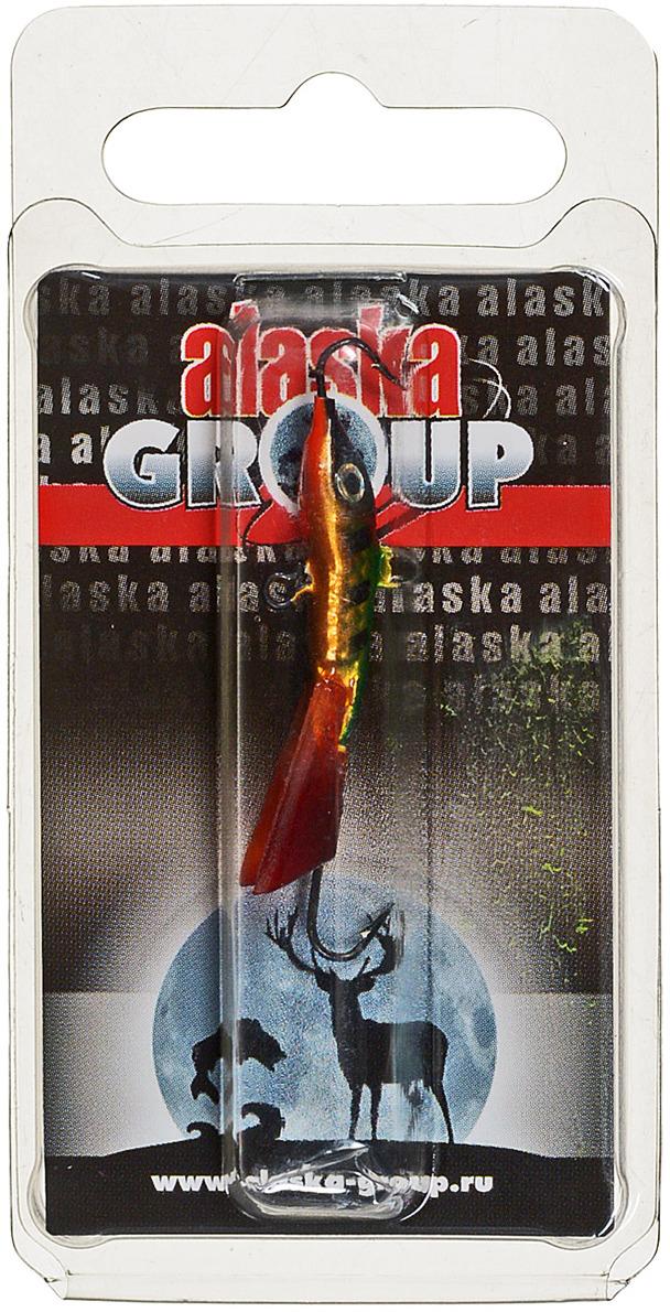 Балансир Alaska Group AGT03 MGL, УТ000011145, зеленый, золотой, 38 мм коробка для приманки alaska кормушка прикормочная спомб