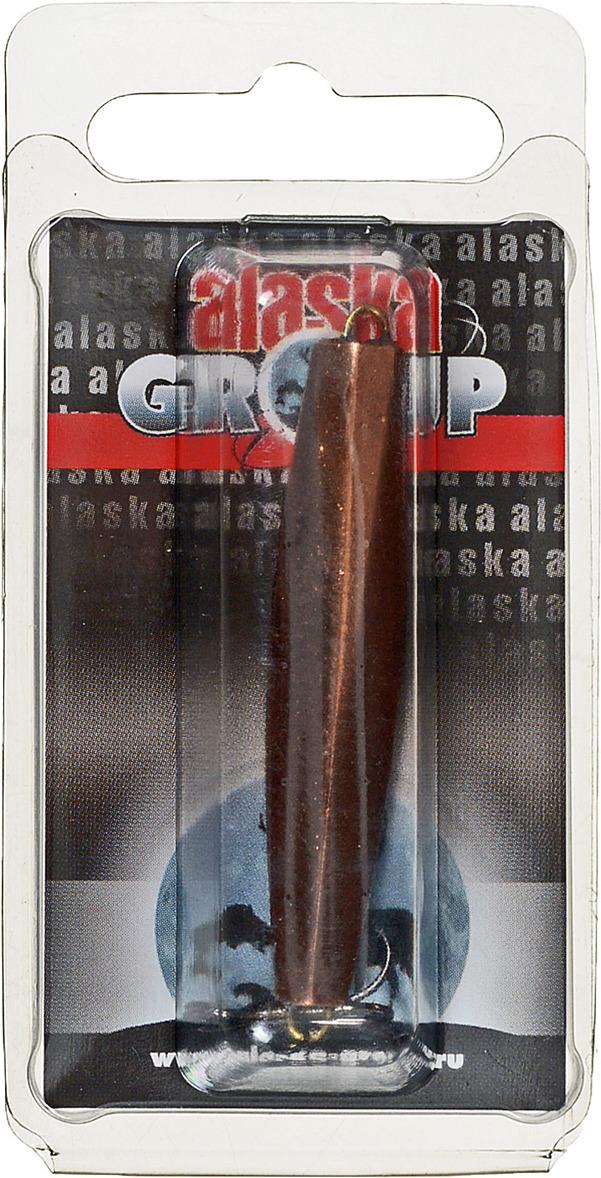 Блесна Alaska Group ABM1/1-55-Cu/Go, УТ000010826, медь, золотой, 55 мм блесна alaska group abm1 1 55 ni go ут000010828 золотой 55 мм