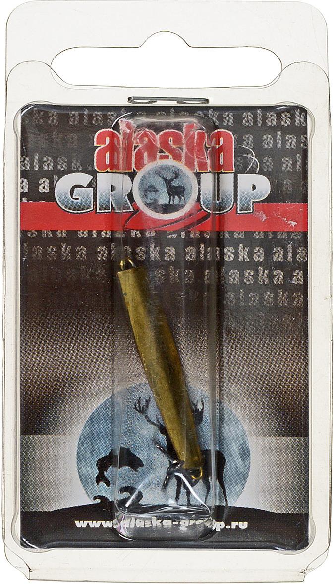Блесна Alaska Group ABM1/1-35-Cu/Go, УТ000010821, медь, золотой, 35 мм блесна alaska group abm1 1 55 ni go ут000010828 золотой 55 мм