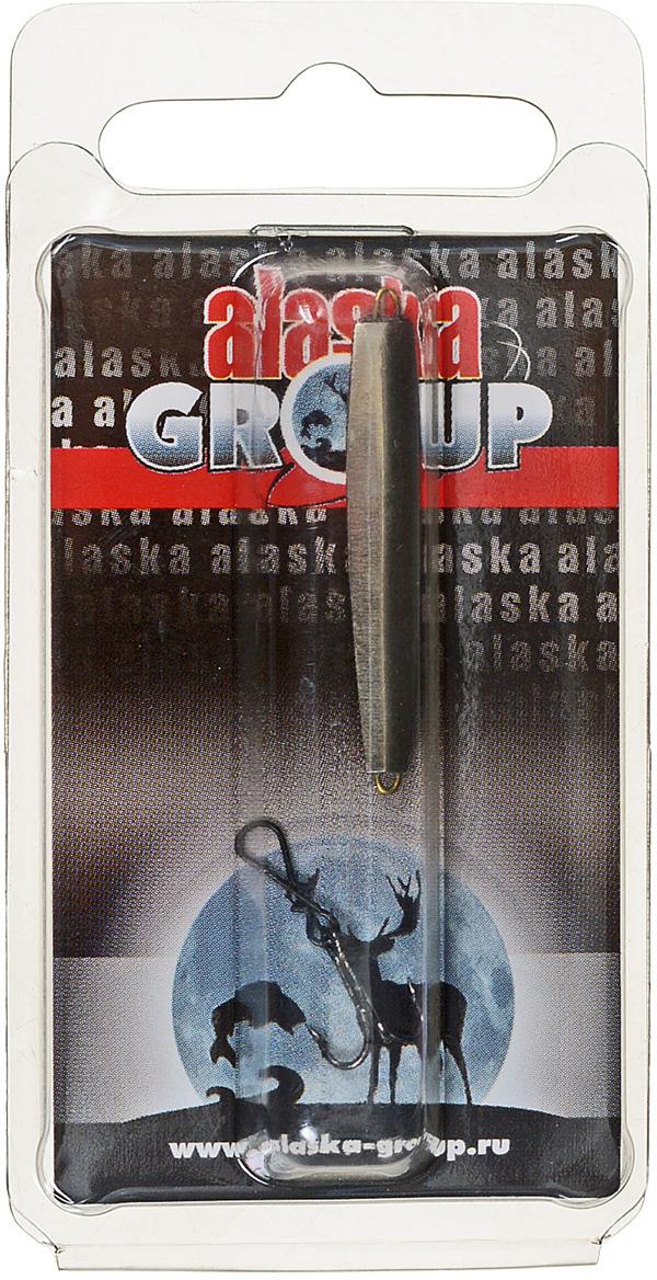 Блесна Alaska Group ABM1/1-35-Ni/Go, УТ000010823, золотой, 35 мм
