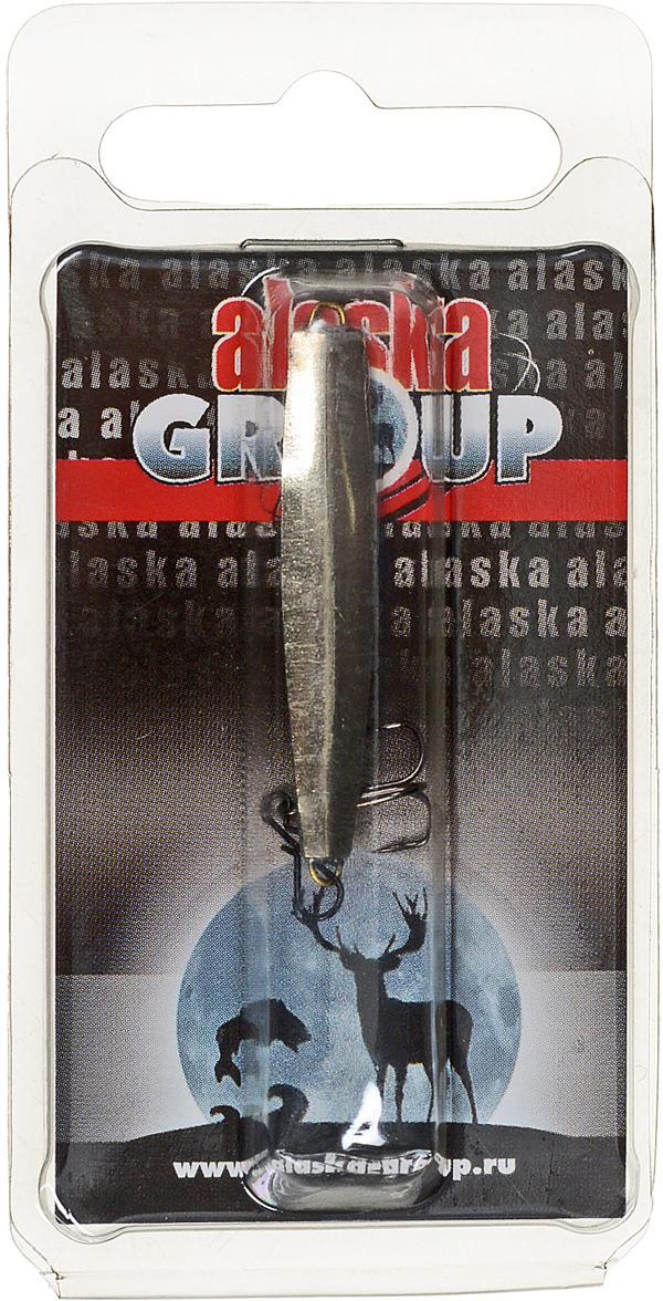 Блесна Alaska Group ABM1/1-40-Ni/Go, УТ000010825, золотой, 40 мм