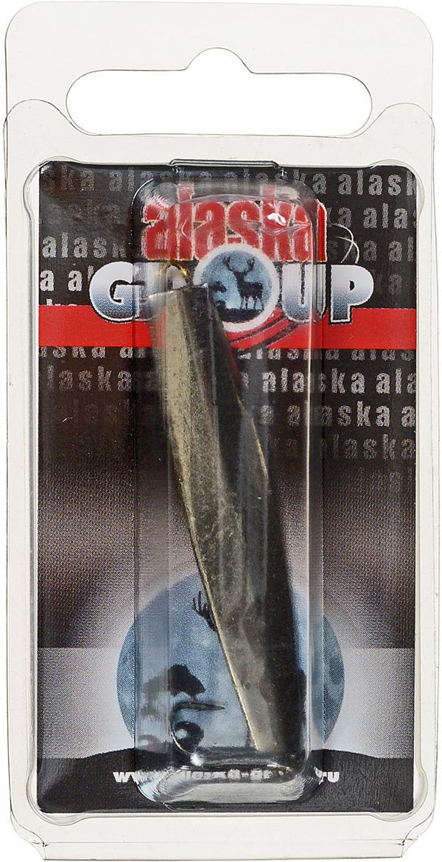 Блесна Alaska Group ABM1/1-55-Ni/Go, УТ000010828, золотой, 55 мм