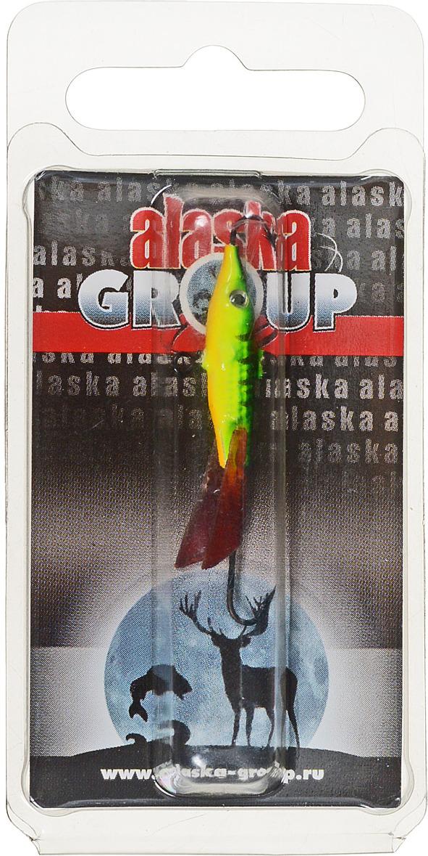 Балансир Alaska Group AGF 04, УТ000011162, зеленый, желтый, 37 мм
