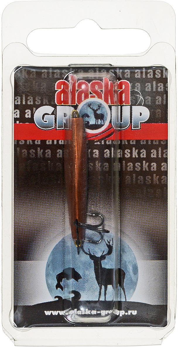 Блесна Alaska Group ABM1/1-35-Ni/Cu, УТ000010822, медь, 35 мм блесна alaska group abm1 1 55 ni go ут000010828 золотой 55 мм