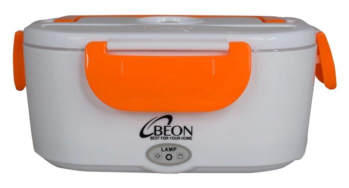 Ланч-бокс BEON BN-1000-оранжевый, BN-1000BN-1000Объем: 1.05 л (две емкости на 0.6 и 0.45 л)Параметры питания: 220В, 50Гц Материал: пищевой пластик Мощность подогревателя: 40 Вт Размеры: 24*17.5*10.5 см Комплектация: контейнер, пластиковая многоразовая ложка, шнур для подключения к сети. Цвет оранжевый.