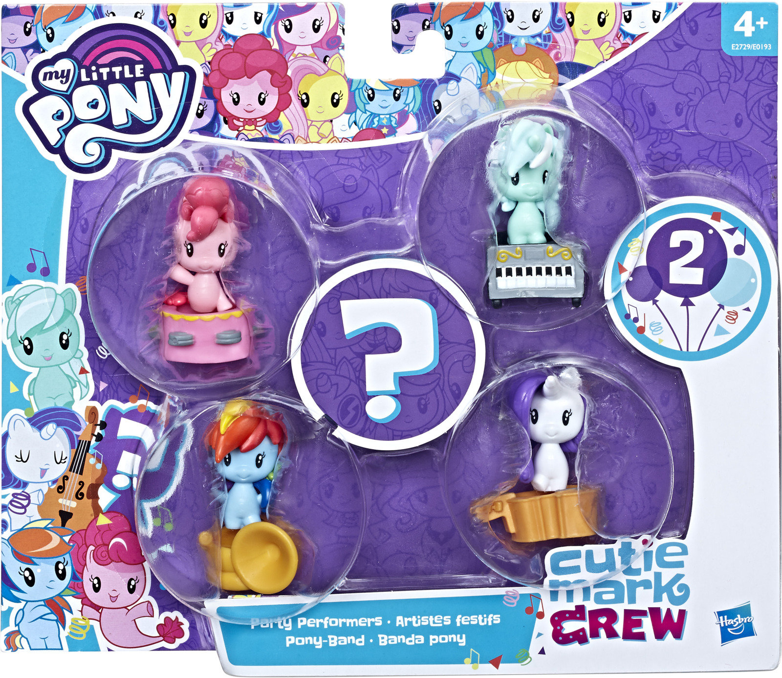 Игровой набор My Little Pony Пони Милашки, E0193_E2729 my little monster 5