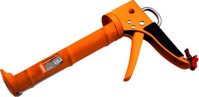 Пистолет для герметика Harden, 620409, полуоткрытый620409Полуоткрытый пистолет для герметика Harden пригодится при монтажных и строительных работах. Используется для нанесения герметика при герметизации различных отверстий и швов.