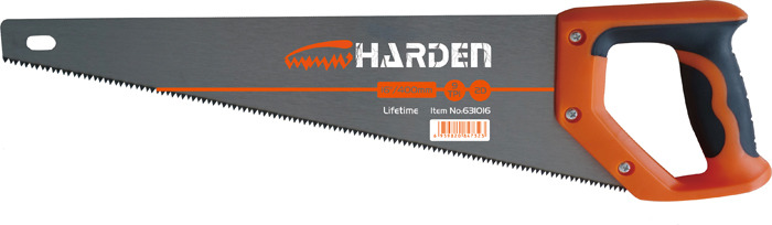 Пила ручная Harden, 631014, зуб 2D, 45 см цены онлайн