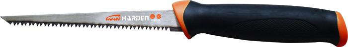 Пила ручная Harden, 631215, для гипсокартона, 15 см пила складная harden 631303 универсальная зуб 3d 33 см