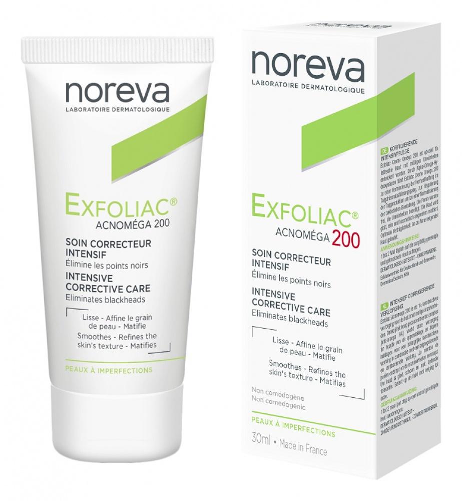 Крем для ухода за кожей Noreva Exfoliac Acnomega 200, для проблемной кожи noreva exfoliac acnomega 200 keratoregulating matifying care
